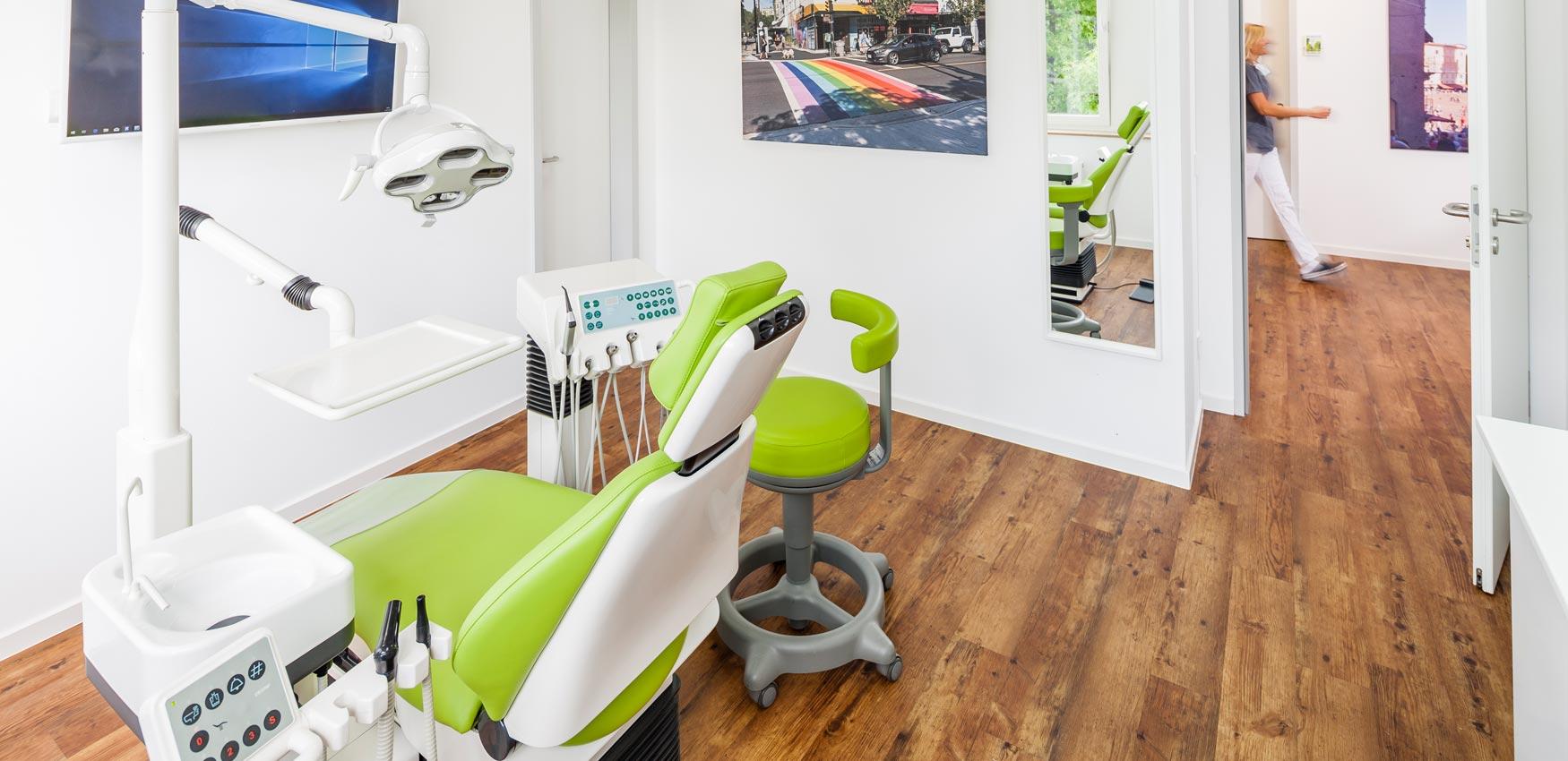 Behandlungsraum Zahnarztpraxis Pierchalla Münster